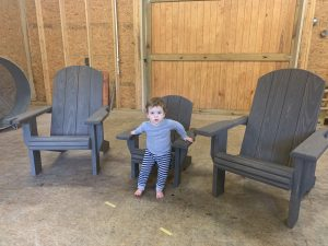 """2x Adult Adirondack Chair, x1 Youth """"Lily"""" Chair – Bundle"""